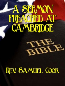 samuel cook sermon cover