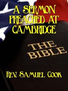 samuel cook sermon cover